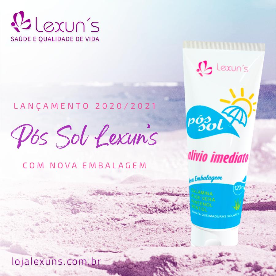 Seu aliado no verão: Loção Pós Sol Lexun's